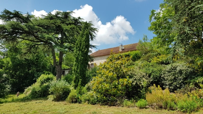Maison Principale et Jardins