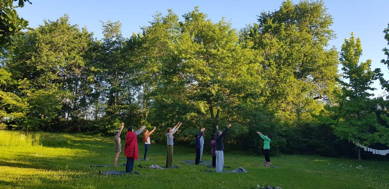 Groupe Stage 2019 Yoga Nature
